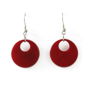 Berlin Dangle Tagua Earrings - Amano Artisans