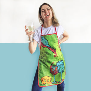 Christmas Aprons by Izy Magu