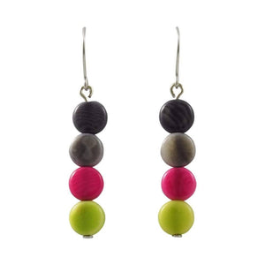 Filitas Dangle Tagua Earrings - Amano Artisans