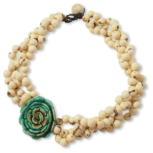 Flor Braided Necklace - Amano Artisans