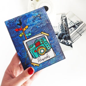 Izy Magu Passport Holder - Amano Artisans