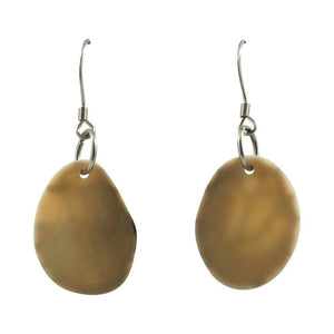 Petalos Dangle Tagua Earrings - Amano Artisans