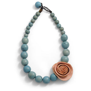 Single Rose Necklace - Amano Artisans