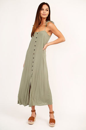 Coconut Grove Midi Dress