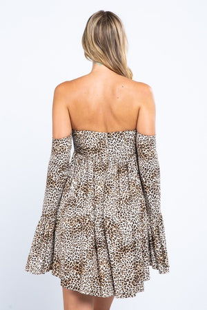 Can't Be Tamed Leopard Dress