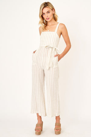 Saint Lucia Striped Jumpsuit