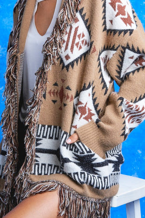 Yellowstone Fringe Sweater