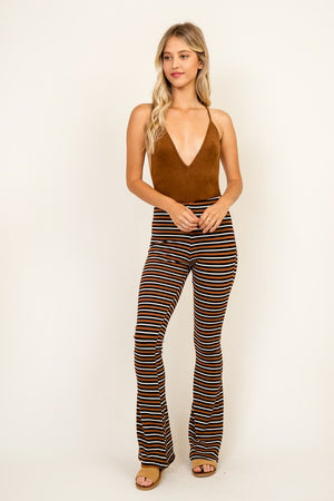 Tough Love Suede Bodysuit