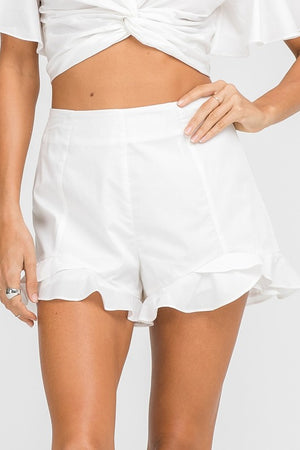 Belize Ruffle Shorts