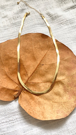 Siesta Sands Necklace-Gold