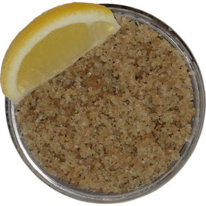 Lemon Poppy Salt Scrub