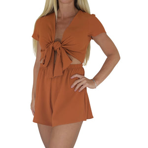 Forget Me Knot Romper