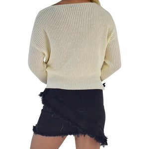 Sunset Chaser Wrap Sweater