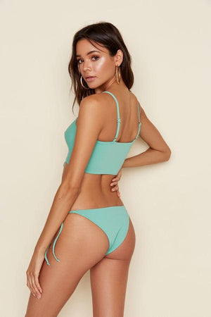 Oceanside Lace Up Bandeau