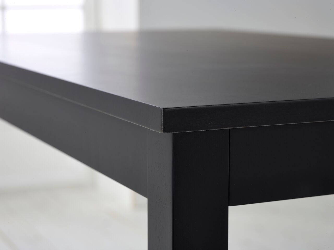 ... Carmen Black Oak Dining Table With 4 Chairs   PACE LONDON LTD   3 ...