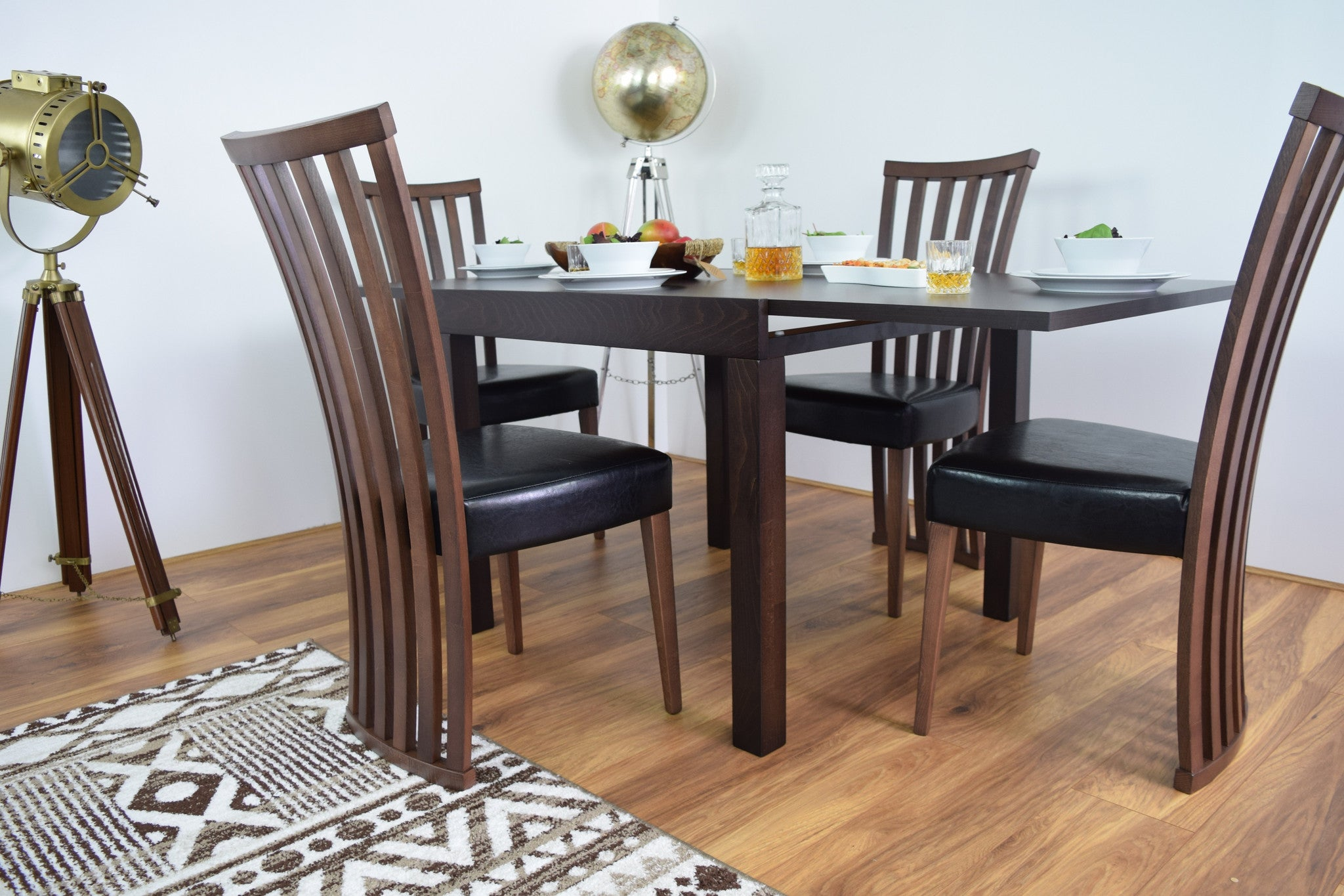 100 dining room tables denver denver 110cm glass dining table with calgary chairs the - Dining room furniture denver ...