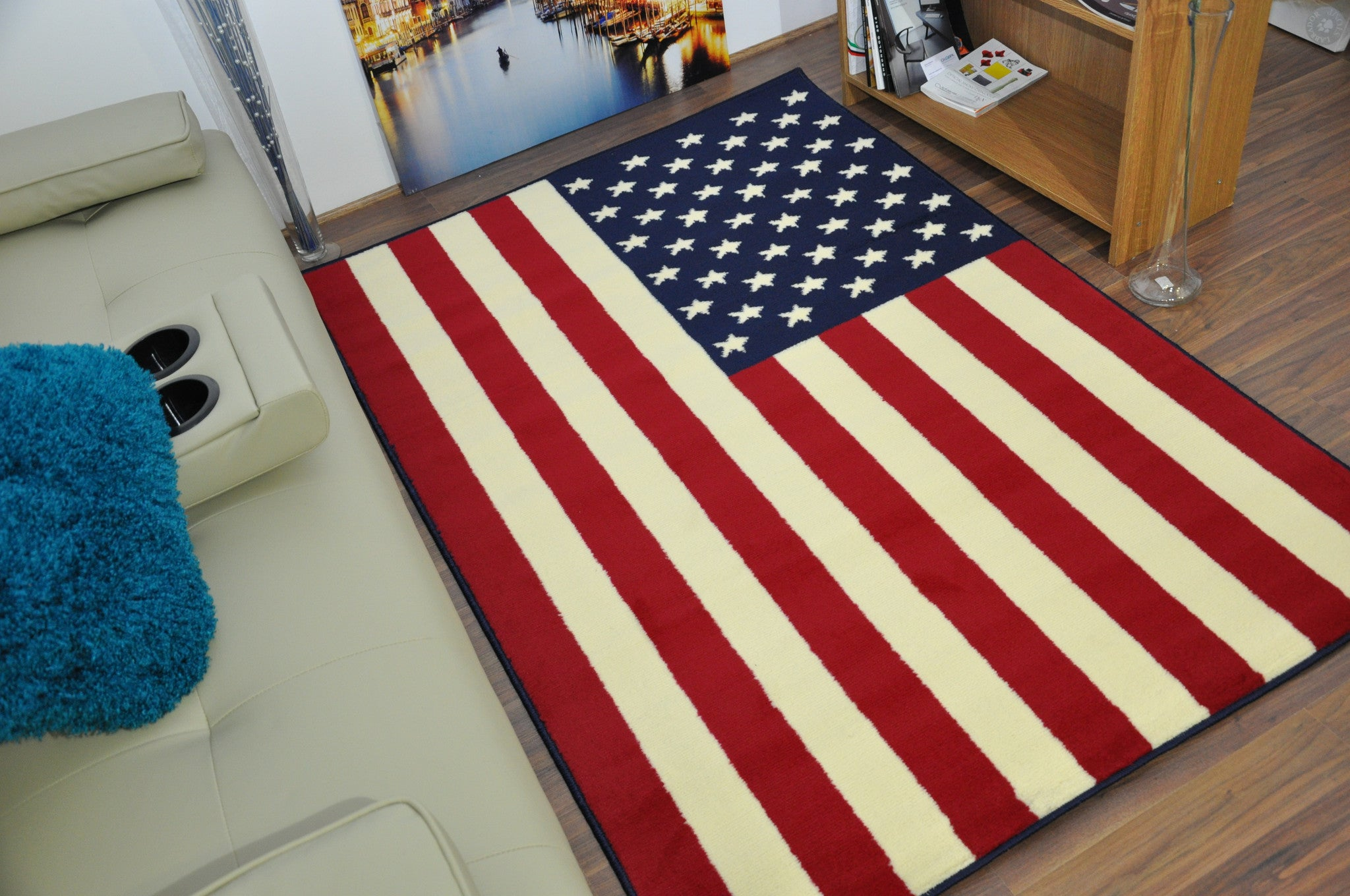 Awesome ... Funky American Flag Print Rug   AHOC LTD   2 ...