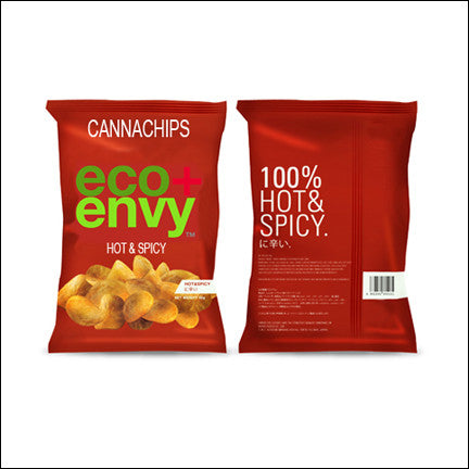 X E+E Edibiles | Infused Organic Canna Chips - Hot & Spicy