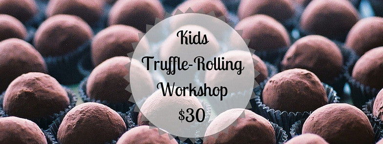 Kids Truffle-Rolling Workshop- June 11, 2016 - Gearharts Fine Chocolates