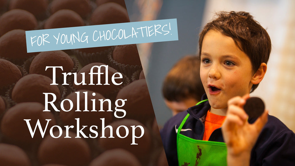 Truffle Rolling Workshop for Kids