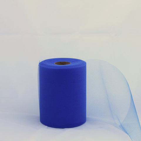 Tulle Roll -  Royal Blue tulle roll - 6 inches - 100 yard - Royal Blue rolls - tulle rolls - Royal Blue wedding decor - Royal Blue tulle roll - Tulle Spool 100 yard