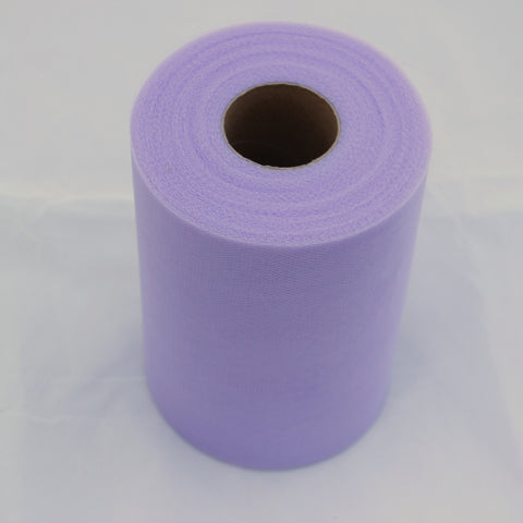 Tulle Roll - Lavender tulle roll - 6 inches - 100 yard - Lavender rolls - tulle rolls - Lavender wedding decor - Lavender tulle roll - Tulle Spool 100 yard