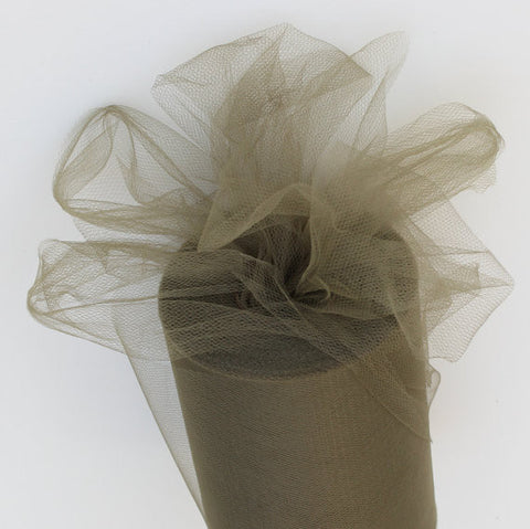 Khaki tulle roll - 6 inches - 100 yard - Olive Tulle Spool - tulle rolls - Olive decor - Khaki tulle roll - Tulle Spool 100 yard