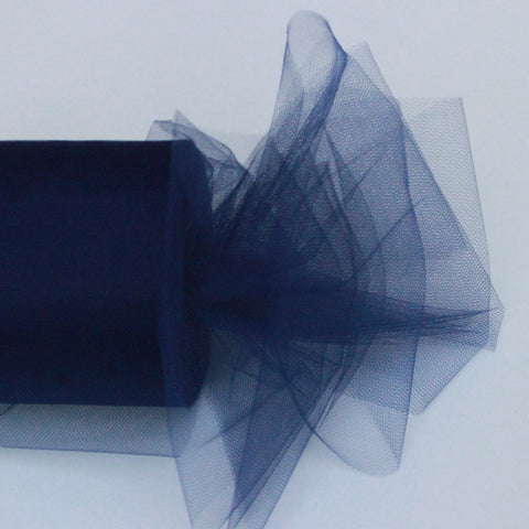 Tulle Roll - Navy Blue tulle roll - 6 inches - 100 yard - Navy Blue rolls - tulle rolls - Navy Blue wedding decor - Navy Blue tulle roll - Tulle Spool 100 yard
