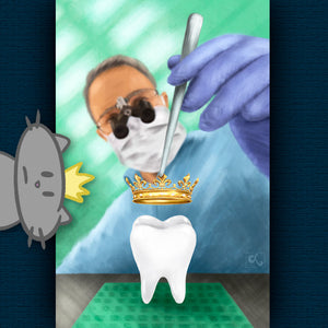 Digital Painting for Dental Office