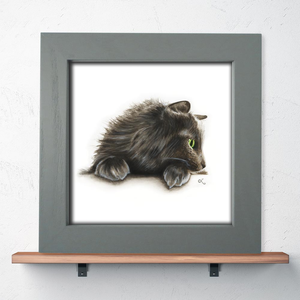 Cat art prints, cards, and more!