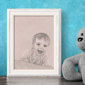 custom-baby-portrait-drawing-baby-gift-for-mom-custom-family-portrait-art-toddler-portrait-gift-cute-baby-drawing