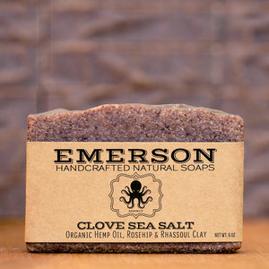 Clove Hemp Sea Salt
