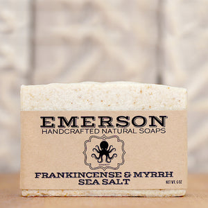 Frankincense & Myrrh Sea Salt