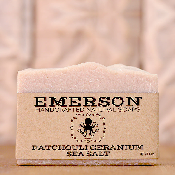 Patchouli Geranium Hemp Sea Salt