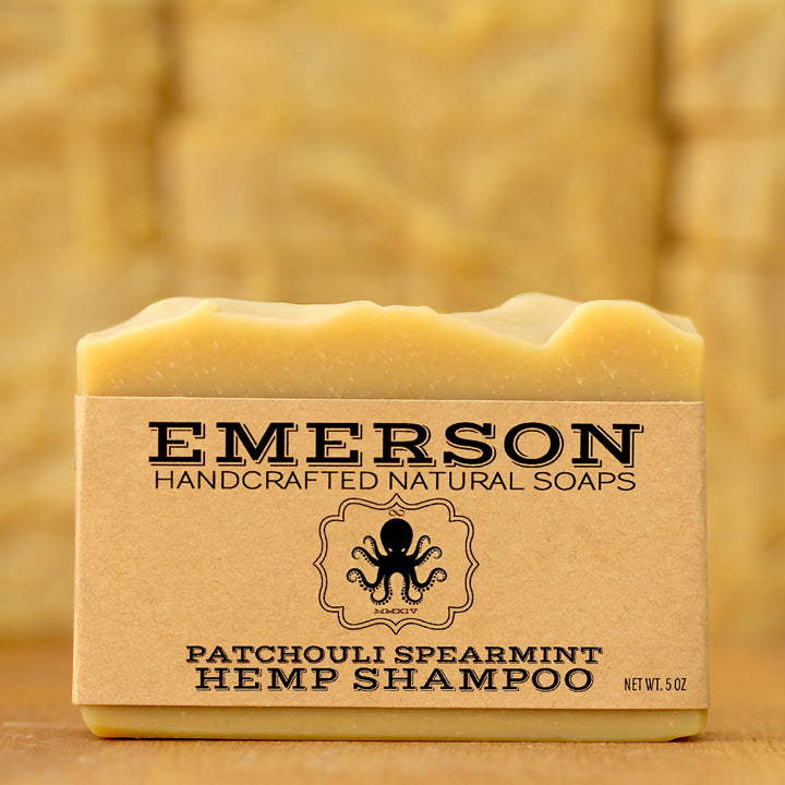 Patchouli Mint Hemp Shampoo