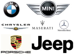 BMW MINI MERCEDES-BENZ CHRYSLER JEEP DODGE MASERATI PORSCHE