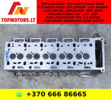 Refurbished / Reconditioned Bare Cylinder Head LDF 109930 / LDH 101600 / LDF109930 / LDH101600 / HRC 2880 Engine Codes 15P / 16P / 10P For LANDROVER TD5 2.5 DIESEL DISCOVERY DEFENDER LAND ROVER