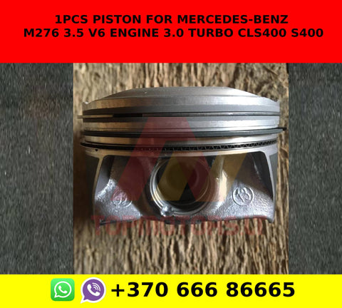1pcs piston for mercedes-benz m276 3.5 v6 engine 3.0 turbo cls400 s400