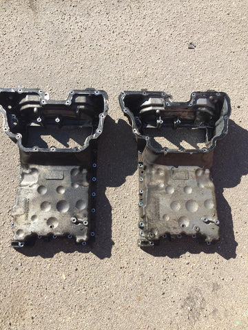 MERCEDES BENZ C CLS E S CLASS 04-09 3.0CDI 642 OM642 OIL SUMP PAN UPPER SECTION R6420140902 or R6420140002 MB MERCEDES-BENZ