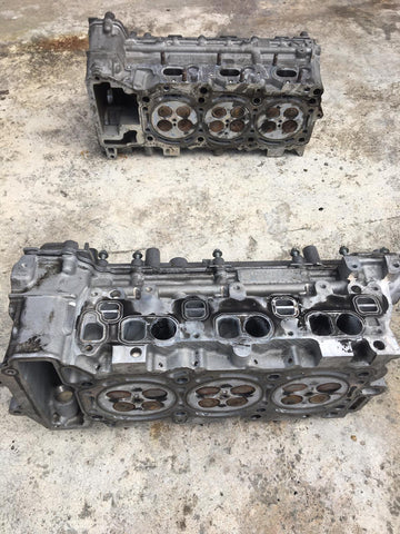 CYLINDER HEAD HEADS SET FOR MERCEDES BENZ CLASS C E S GL ML SPRINTER 3.0 12V OM642 2010- A6420103507 / A6420103607 C350 E350 S350 GL350 ML350