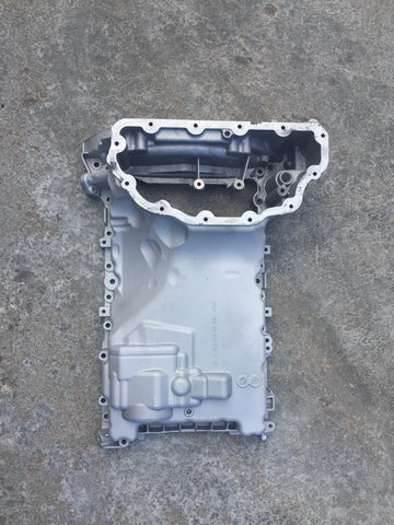 Used and previously welded no warranty OIL UPPER SUMP PAN FOR MERCEDES BENZ ML GL166 3.5 CDI 350CDI 3.0 3,0 3.5 3,5 DIESEL ENGINE OM642 M642 642 MISKA OLEJOWA A6420145302 GLE