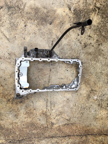JAGUAR XF X250 2.2 AJ-I4D DIESEL ENGINE OIL PAN SUMP TOP upper HALF 9683337280