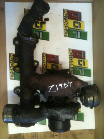 Z19DT 1.9 OPEL SAAB 88 KW DIESEL ENGINE TURBO CHARGER 2003 2004 2005 2006 2007 2008 55196765 REF OF0306