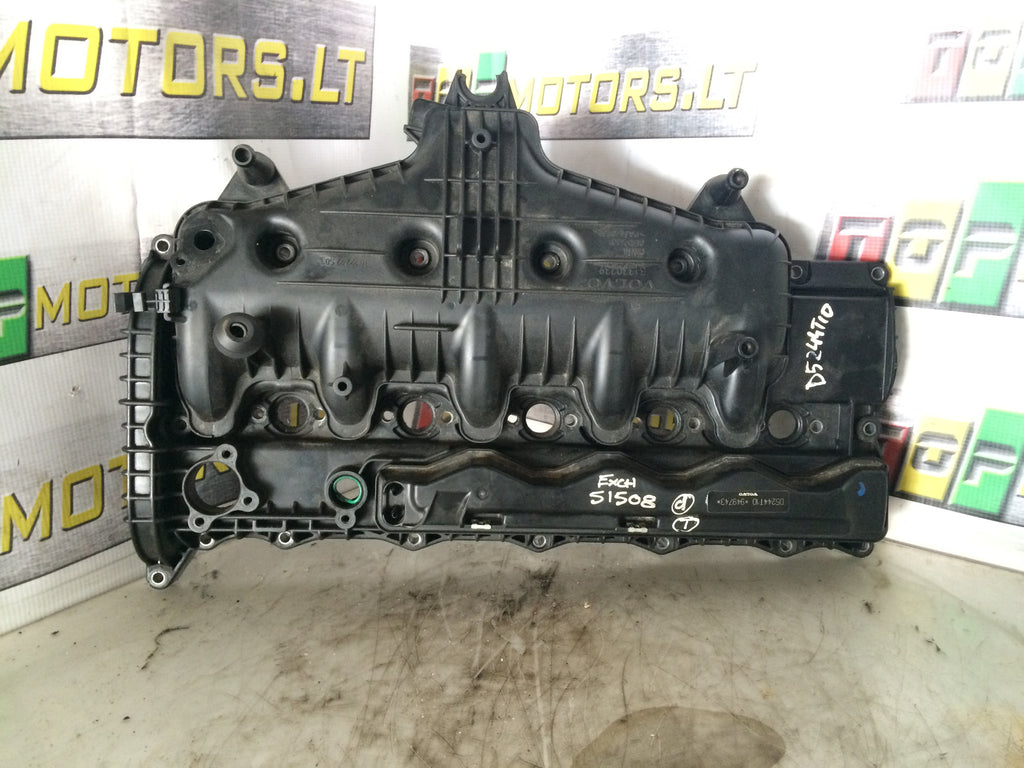 2010 D5244T10 VOLVO D5 2 4 T10 DIESEL TWO STAGE TURBO THIRD GENERATION  COMMON RAIL SYSTEM ENGINE INLET IN INTAKE MANIFOLD