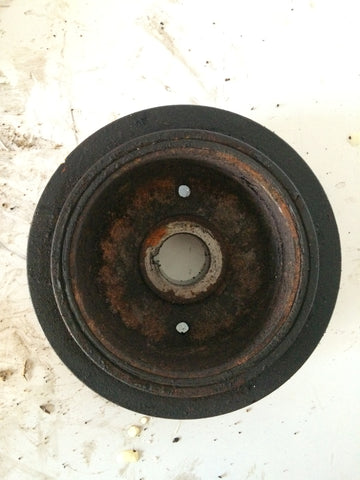 2004 1ZZ TOYOTA 1.8 VVTI PETROL ENGINE CRANKSHAFT PULLEY