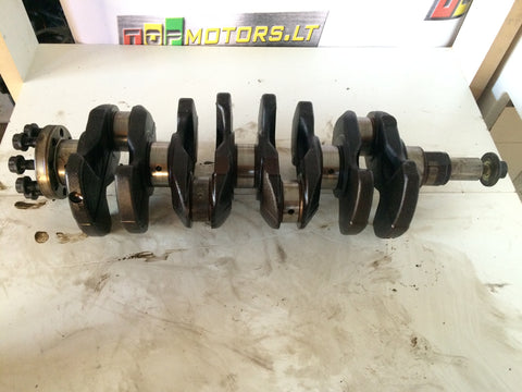 2004 1ZZ TOYOTA 1.8 VVTI PETROL ENGINE CRANKSHAFT