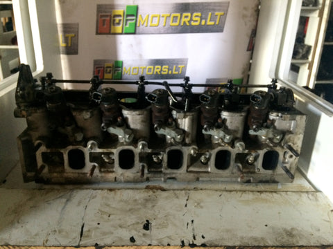 2001 ALFA ROMEO FIAT LANCIA 2.4 JTD DIESEL ENGINE CYLINDER HEAD WITH INJECTORS