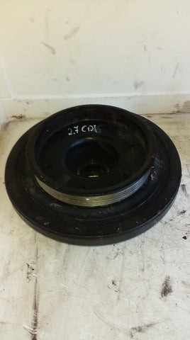MB MERCEDES BENZ ML270 CDi 2.7 DIESEL 20V 5 CYL FRONT CRANKSHAFT PULLEY UNIT 612-963 REF A0268