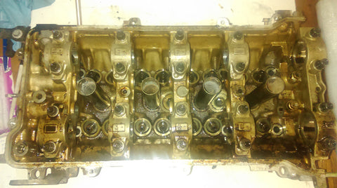 000 1220 TOYOTA CELICA COROLLA T SPORT  1.8 ENGINE CODE 2ZZ - GE Cylinder Head 1999-2006