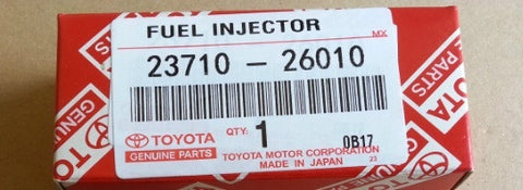 LEXUS IS220D 5 5TH INJECTOR DENSO TOYOTA AURIS AVENSIS RAV4 COROLLA 2371026010 fit: 2671026011 2371026012 ENGINE CODE 2AD-FHV AND 1AD-FTV